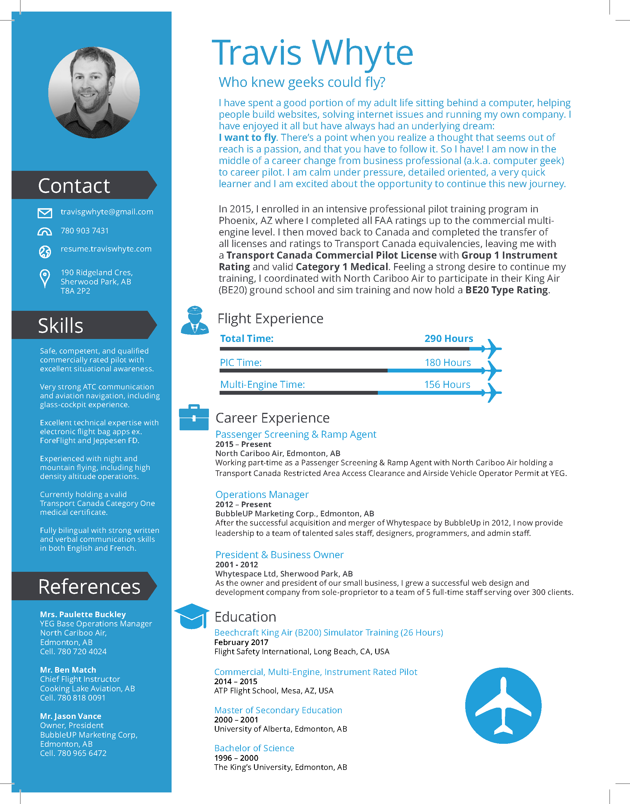 airline ramp agent resume