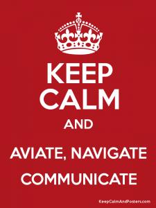aviate-navigate-communicate